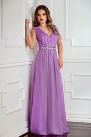 rochii de seara lungi lila