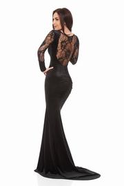 rochii de seara lungi negre