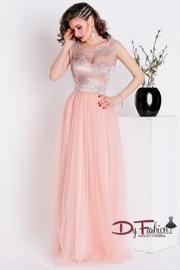 rochii de seara lungi roz