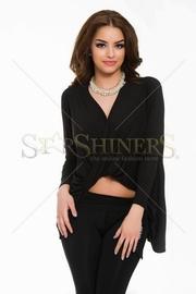 bluze asimetrice negre