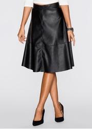 fusta neagra imitatie piele