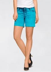 pantaloni scurti de blugi colorati