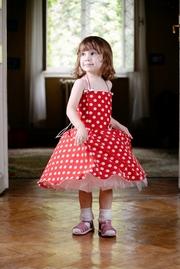 rochite rosii pentru fetite